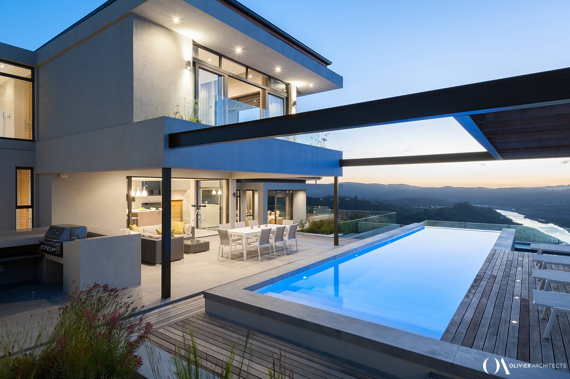 Olivier Architects \ Simola \ Knysna \ South Africa