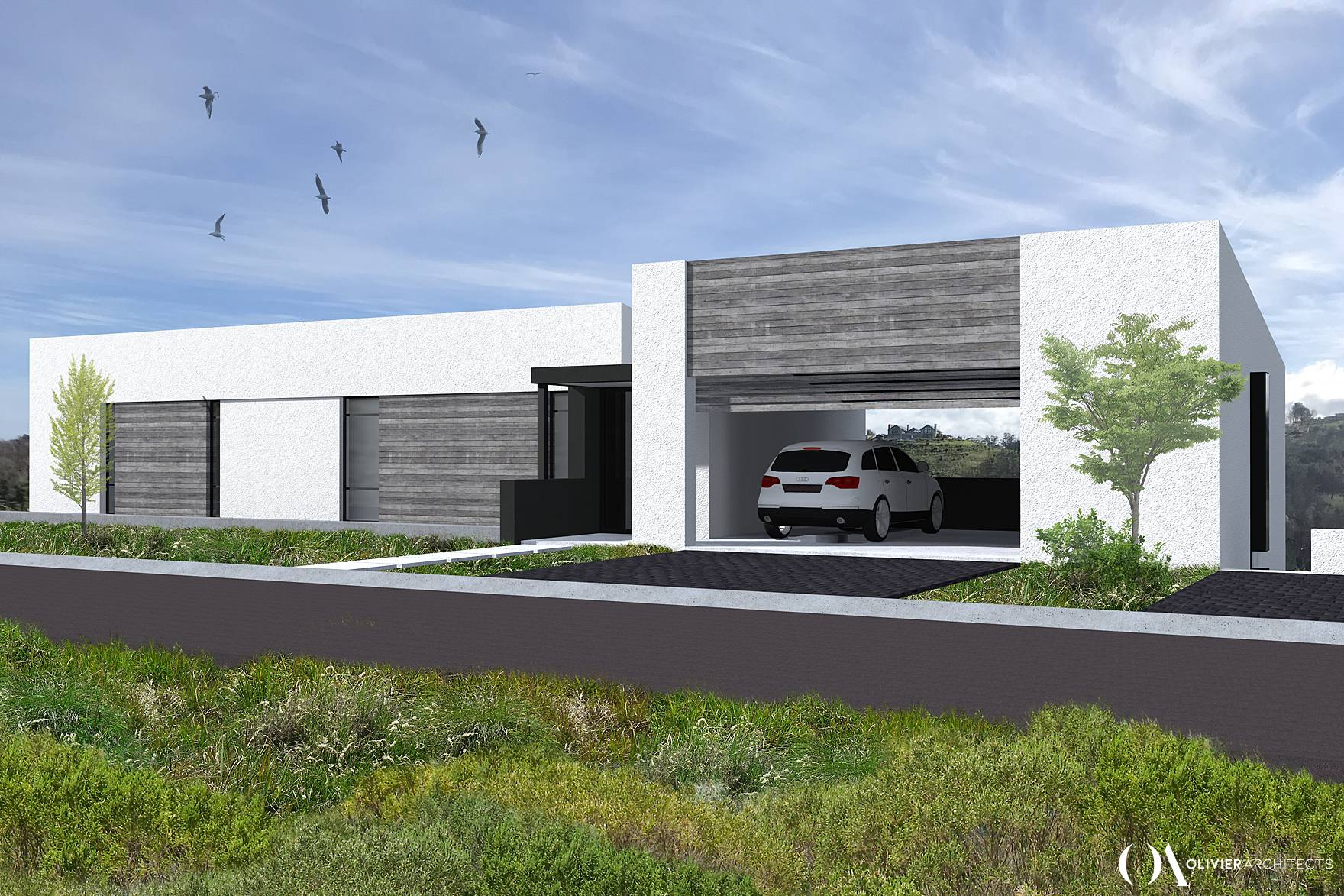 Contemporary residential architecture, timber cladding, knysna architects, Olivier Architects