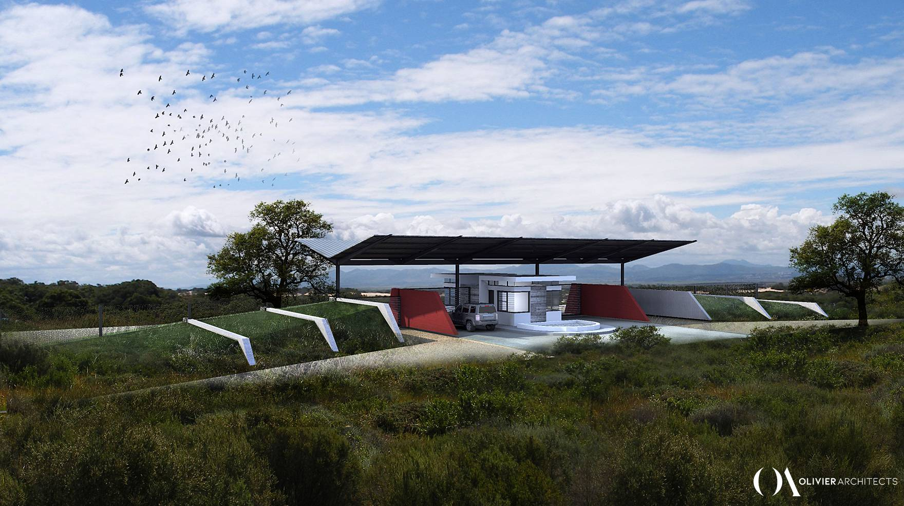 Rural Community Development and Farming Community - Agriculture - Olivier Architects