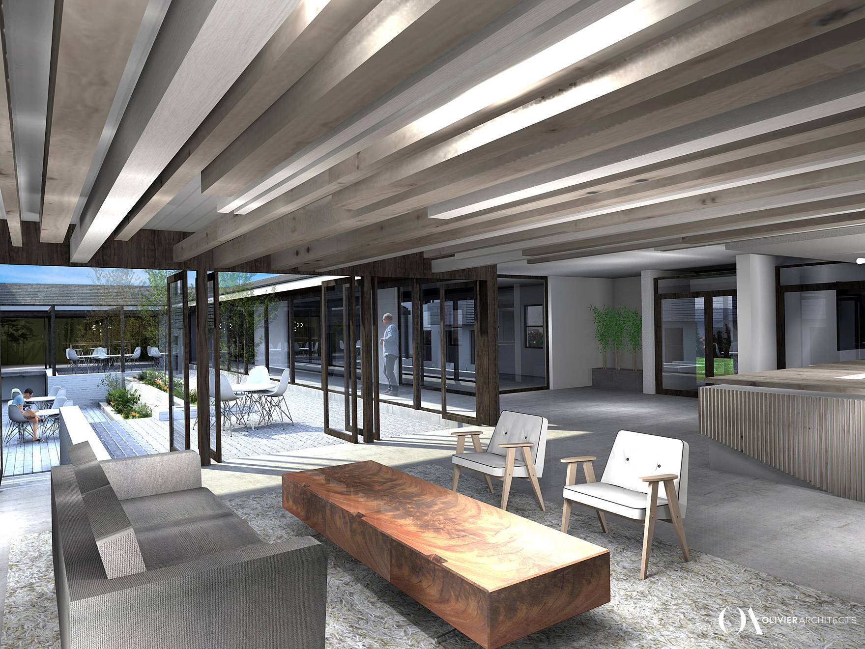 Renovation MTO plantation headquarters, Cape Town architects ,Olivier Architects