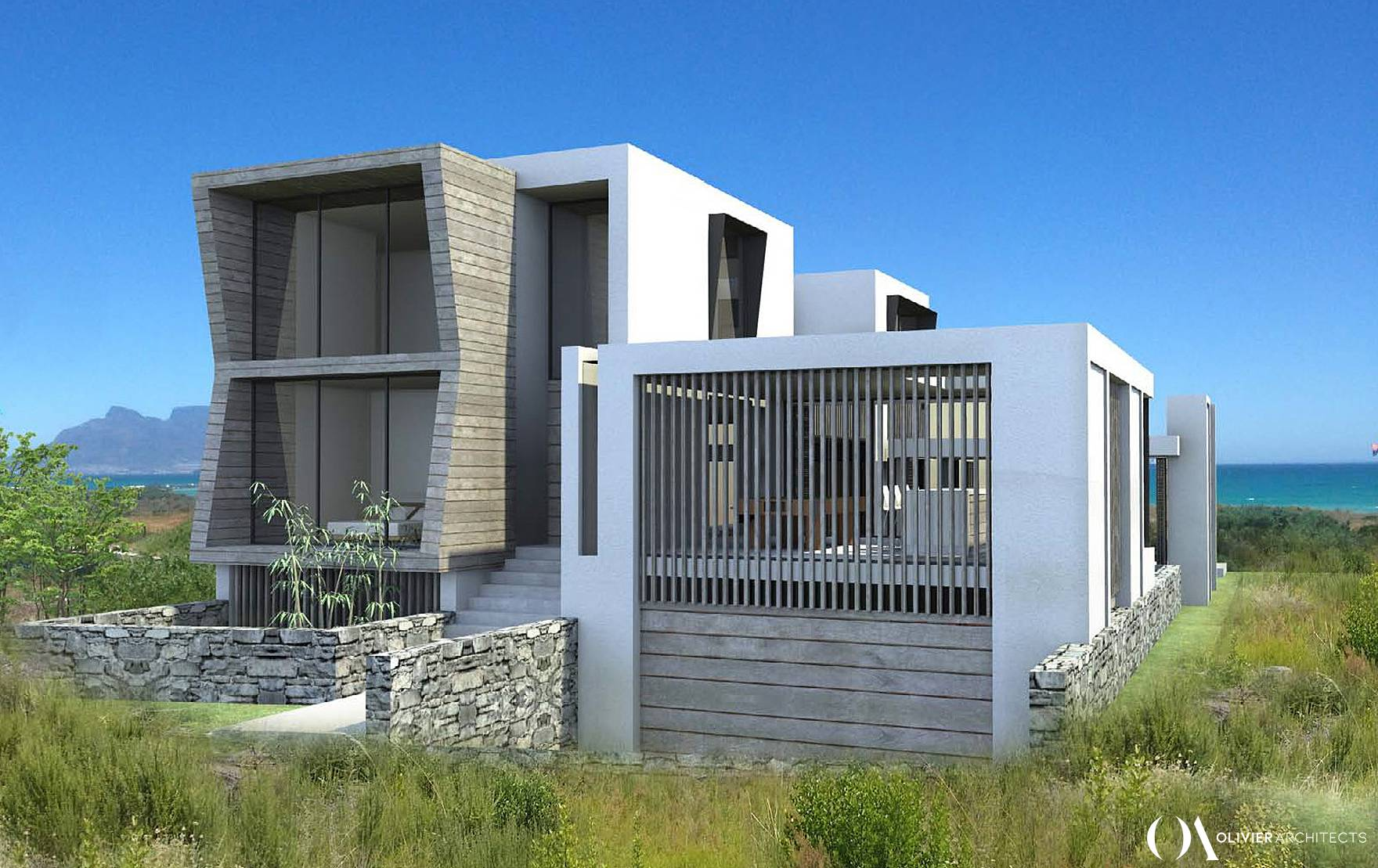 Contemporary Cape Town Beach House, Cape Town Architecture, Olivier Architects