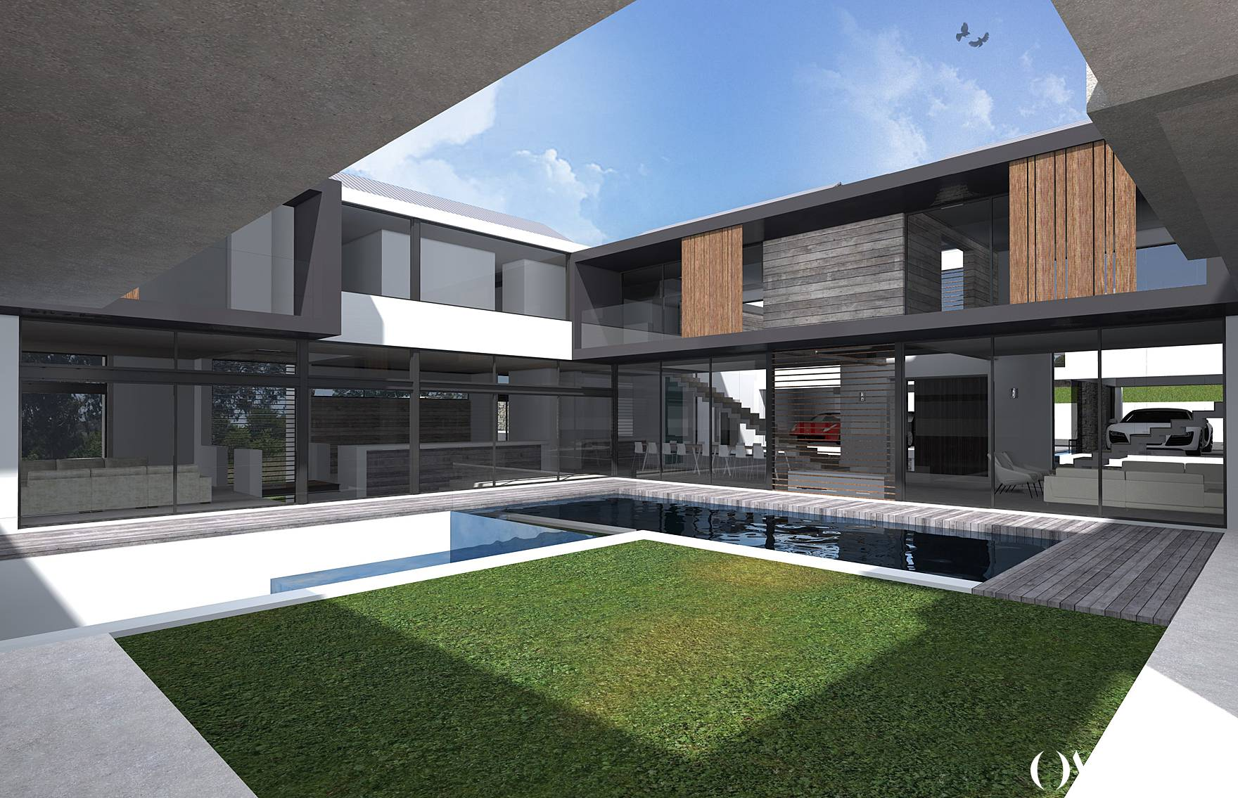 Johannesburg Contemporary Lifestyle Estate Architecture, Luxury home, Olivier Architects