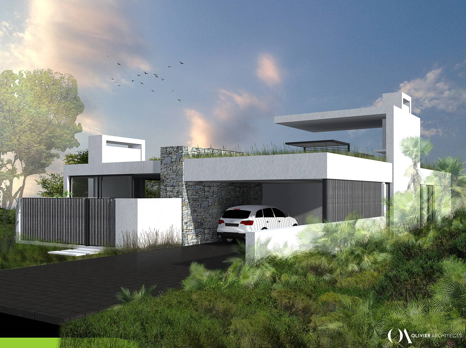 Contemporary Residential home, Knysna Architects, Olivier Architects