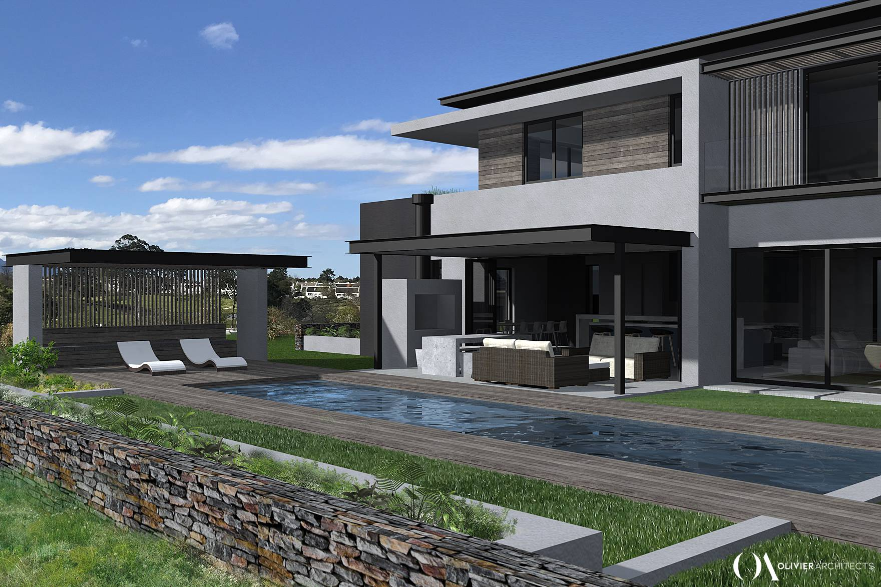 Fancourt Golf Estate Architecture, George Architects, Olivier Architects