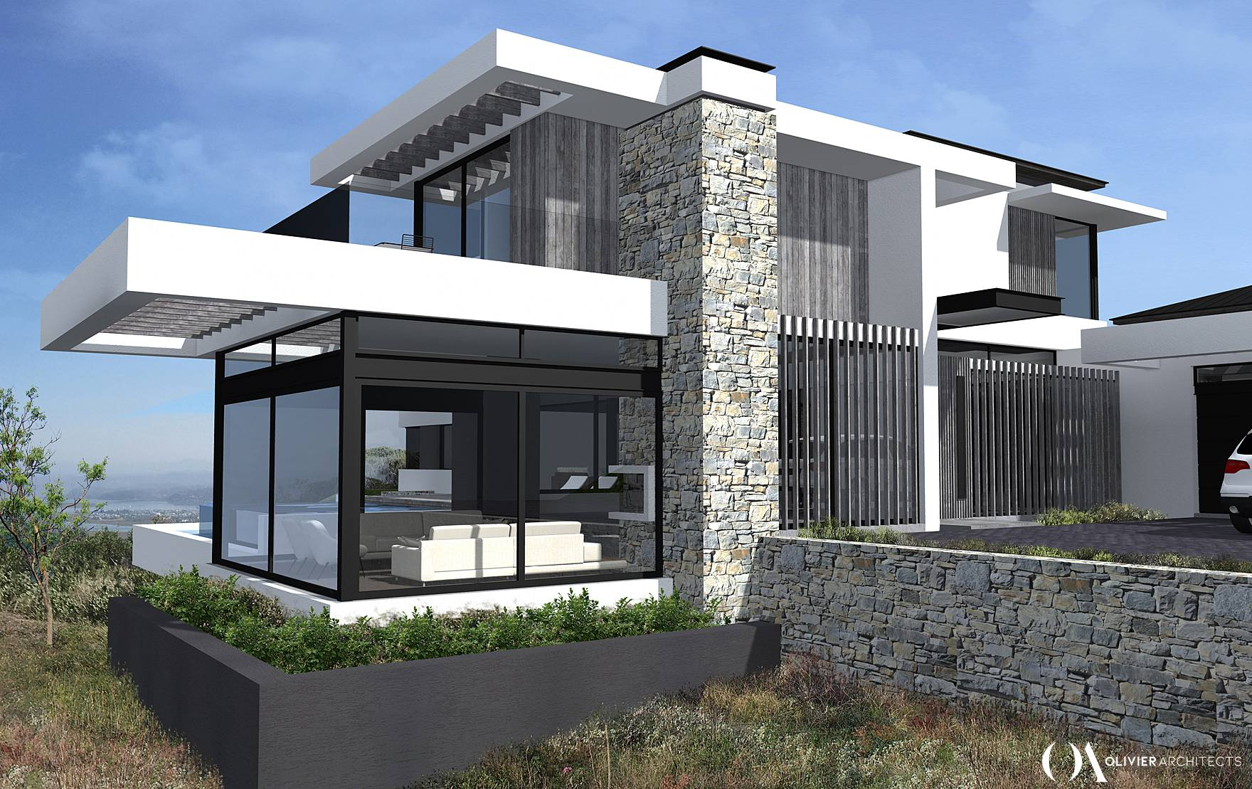 Pezula Estate Architecture, house design, top architects knysna, Olivier Architects
