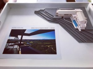 Olivier Architects, Thesn Island. Model building Knysna, Simola Golf and Coutry Estate.
